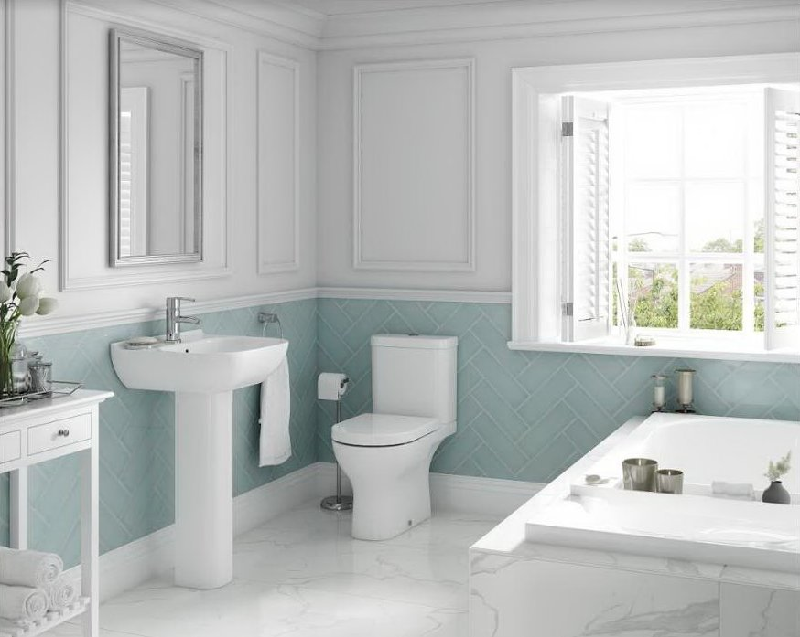 Why is Ceramic the perfect fit for bathrooms?